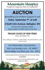 Auction Benefiting our Patient Support Fund