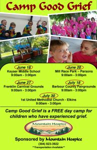 Camp Good Grief - Barbour County Fairgrounds @ Barbour County Fairgrounds