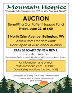 Patient Support Fund Auction